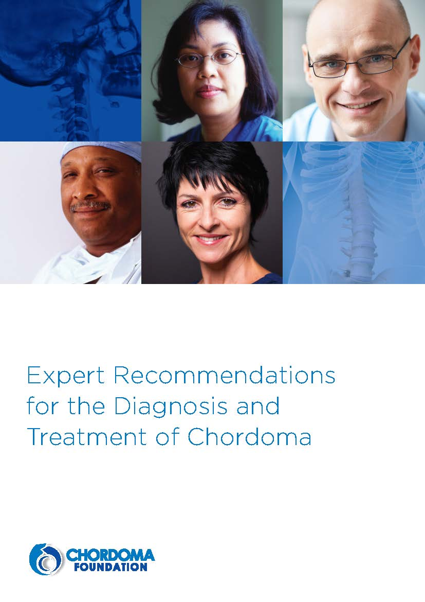 Expert Recommendations for the Diagnosis and Treatment of Chordoma booklet