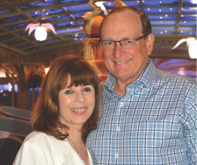 Grateful for life-saving support, couple embarks on mission to champion research for others