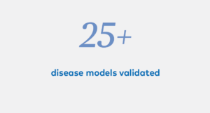 25+ disease models validated