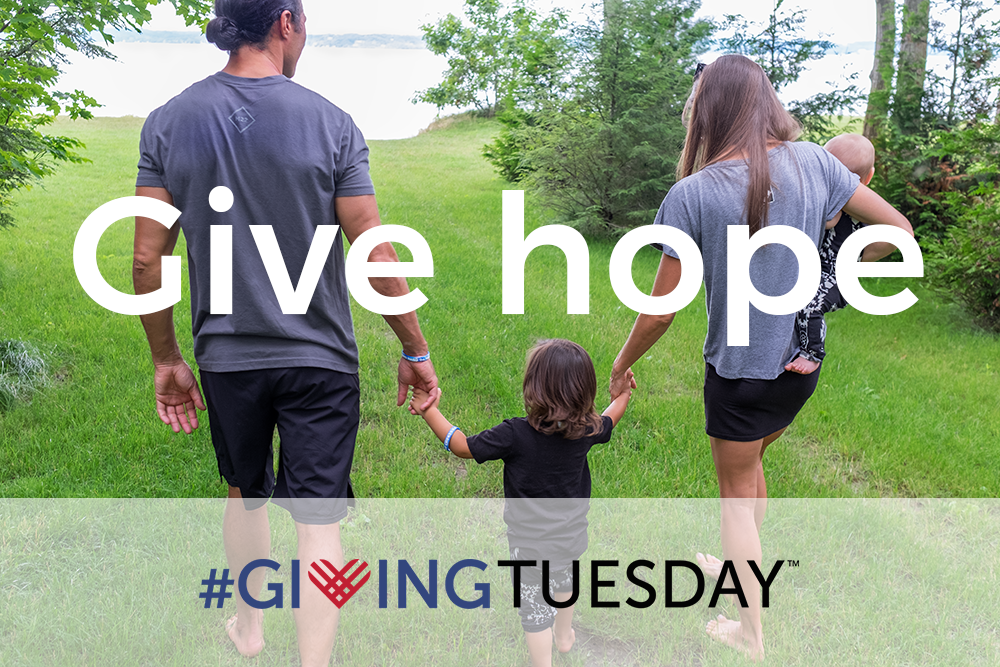 Give hope for #GivingTuesday
