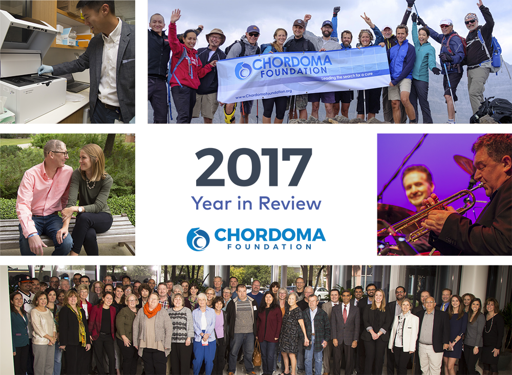 2017 Chordoma Foundation Year in Review