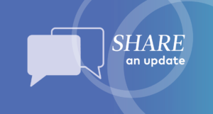 online community - share an update