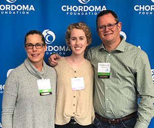 Chordoma is a solvable problem. Join me in being part of the solution.