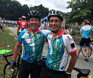 Veteran cycler and chordoma survivor advance cutting-edge chordoma research at Dana-Farber Cancer Institute