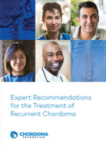 Expert Recommendations for the Treatment of Recurrent Chordoma booklet