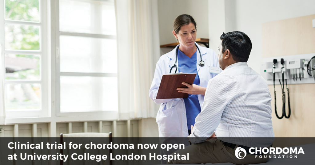 Clinical trial for chordoma at University College London Hospital